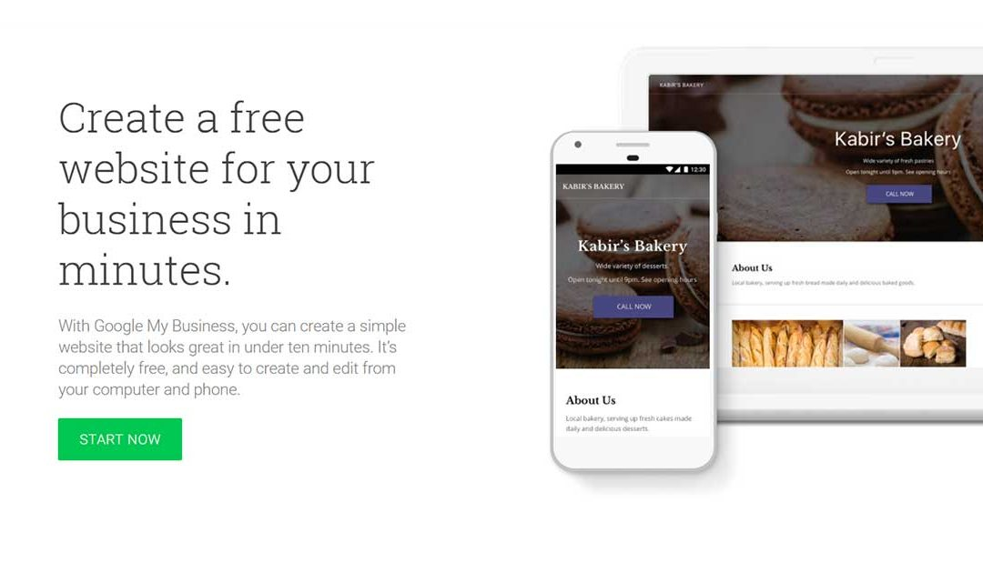 free business website from google fred gillen